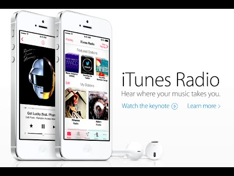 How to have iTunes radio on your iphone 5
