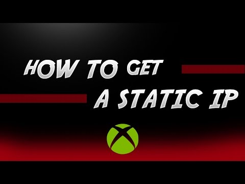 How To Get A Static IP Xbox One
