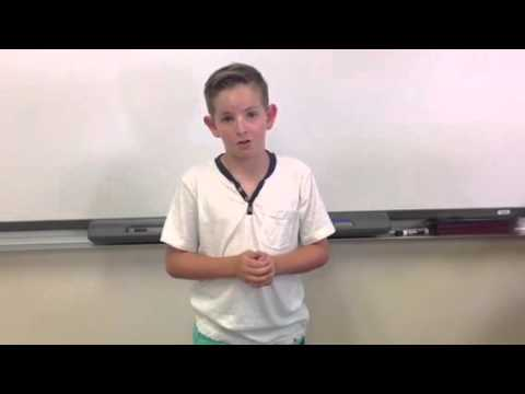 best 5th grade student council presidential speech ever!!!!