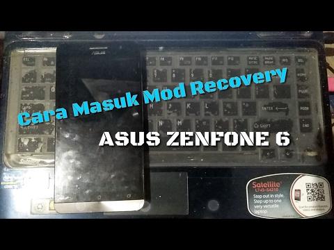 Cara Masuk Mod Recovery( Hard Reset ) ASUS ZENFONE 6