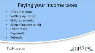 Paying Your Income Taxes