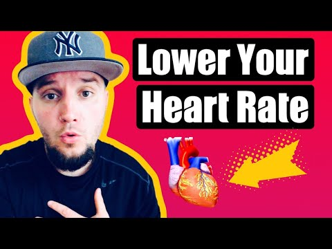 12 Ways To Lower Heart Rate Long-Term For Anxiety Sufferers!