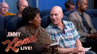 The Most Annoying People on the Plane starring Sir Patrick Stewart
