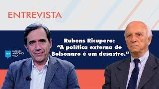 """Rubens Ricupero: """"A política externa de Bolsonaro é um desastre."""""""