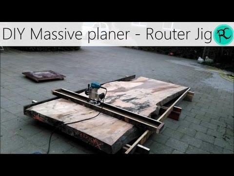 Router Planer - Nick Offerman's Flattening Jig