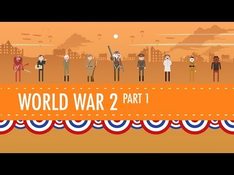 World War II Part 1: Crash Course US History #35