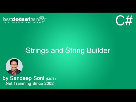 C# String Builder - String and String Builder - 4