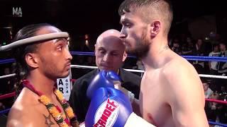 Adrian Maguire British Title Fight