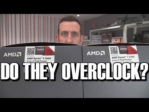 AMD Ryzen+ 2600 & 2700 CPU Review - Do they overclock?
