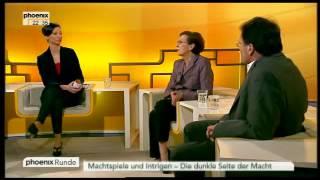 Machtspiele und Intrigen - Die dunkle Seite der Politik - PHOENIX Runde vom 21.03.2012