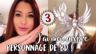 J'AI MON PROPRE PERSONNAGE DE BD ! - VLOGMAS 3
