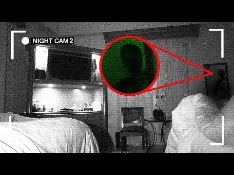 😲 I RECORDED MYSELF SLEEPING IN A HAUNTED HOTEL ROOM | OmarGoshTV