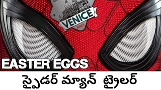 Download SpiderMan Far From Home Trailer+Easter Eggs Explained in Telugu | Fridaycomiccon Video