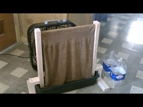 Homemade Evap. Air Cooler! - The DIY