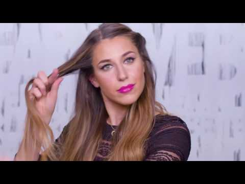 Boho Half Up Half Down Holiday Hair Tutorial with Andrea Pion for Redken