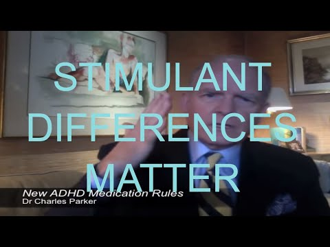 Adderall & Vyvanse vs. Ritalin & Concerta - Differences Explained - Tutorial