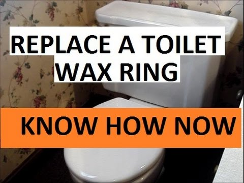 How to Install a Toilet Wax Ring