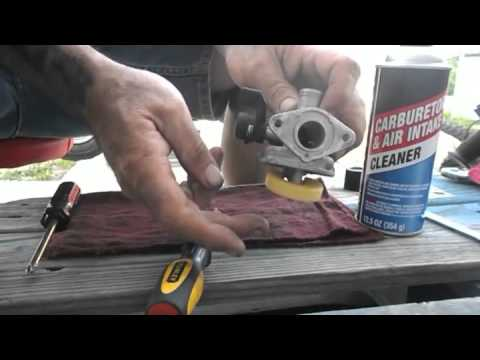 How to Clean the Carburetor on 110cc Lifan Clone Engine