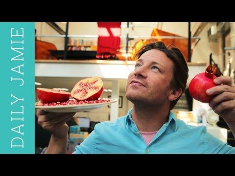 LET'S TALK ABOUT POMEGRANATES! | Jamie Oliver