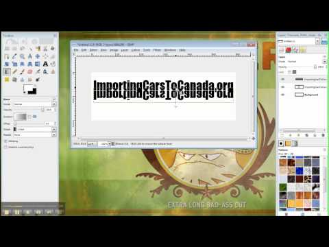 How To Make A Website Logo With GIMP