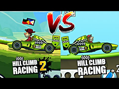 Legendary Formula | Hill Climb Racing 2 vs Hill Climb Racing 1