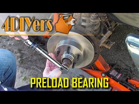 DIY: How to Preload Tapered Roller Wheel Bearing