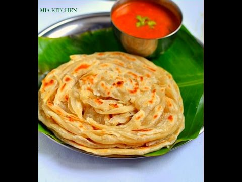 How to make Wheat Soft Parotta / Kerala poratta