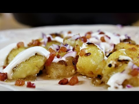 Potato Dumplings with Fried Onion (Dödölle)