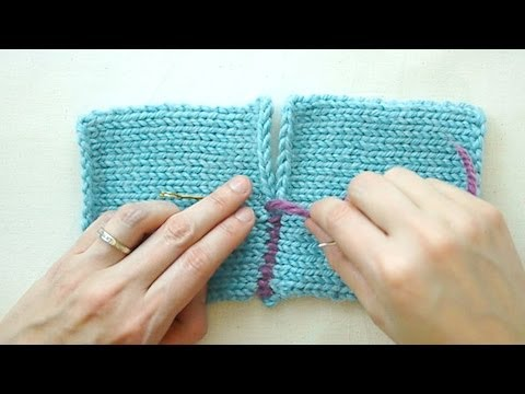 The Mattress Stitch: Sewing for Knitters