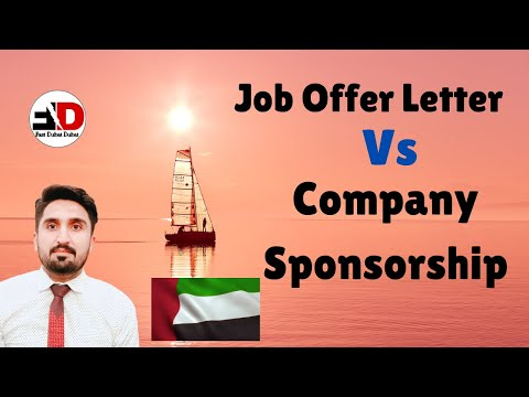 DUBAI JOB OFFER LETTER |COMPANY SPONSORSHIP IN DUBAI UAE !!!
