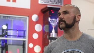 Training at WWE Performance Center