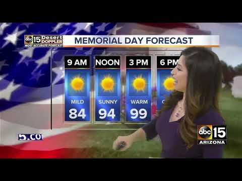 Top stories: Memorial Day events around the Valley, police working to stop drunken drivers