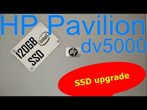rd #239 How to upgrade the HDD to SSD for the HP Pavilion dv5000 laptop
