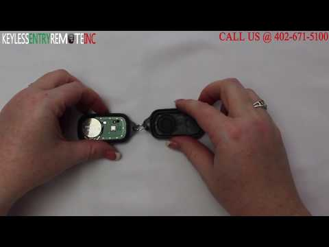 How To Replace Toyota Camry Key Fob Battery 2000 2006