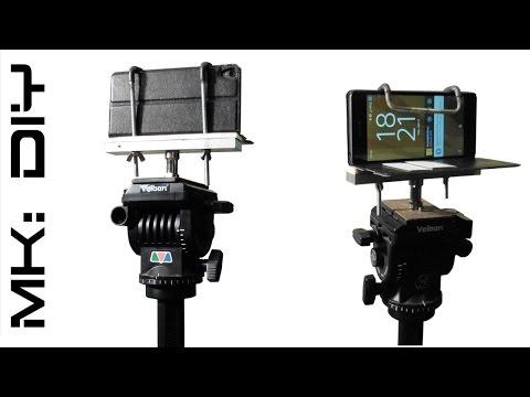 MK: DIY Tripod phone mount #tutorial