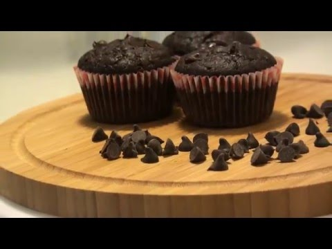 The Best Double Chocolate Muffins - Bake With Me