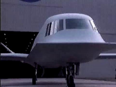 Northrop Tacit Blue | Battlefield Surveillance Aircraft eXperimental (BSAX) | stealth aircraft