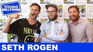 How Seth Rogen Almost Blew Up Josh Hutcherson's Hand!