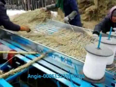 rice straw knitting machine,straw mat weaving machine, grass curtain weaving machine