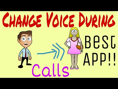 Change Voice During Call ! Change Male To Female Voice In Android/Change Voice From Male To Female