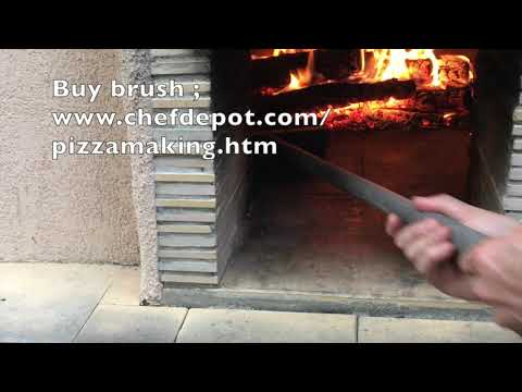 how to light a wood fired pizza oven