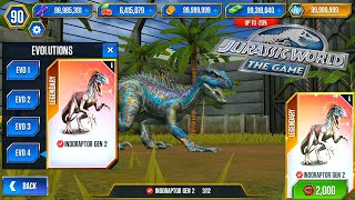 Indoraptor Terrifying Superhybrid Event Jurassic World The Game Fhd 1080p