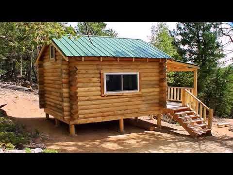 Tiny House Log Cabin Floor Plans