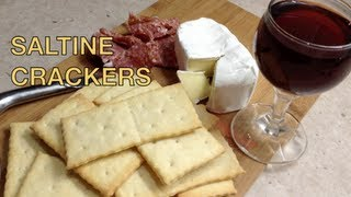 Home Made Saltine Crackers Thermochef Video Recipe cheekyricho