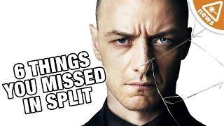6 Startling Split Details You May Have Missed! (Nerdist News w/ Jessica Chobot)