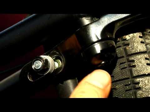 How to Install BMX Rear Brakes