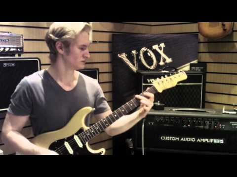 Custom Audio Amplifiers PT50 Demo by Josh Wibaut Part 2