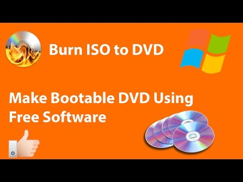 How To Burn ISO File Into DVD or CD (Bootable) | Free ISO Burning | Windows | Hindi