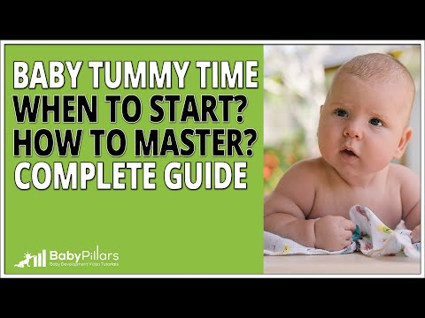 Tummy Time - When to start and what you must know (2018)