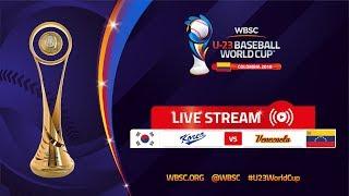 Korea v Venezuela – U-23 Baseball World Cup 2018